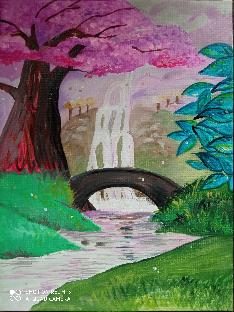 """Картина """"Вълшебният водопад"""""""