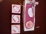 Картонени кутийки за спомени на бебето