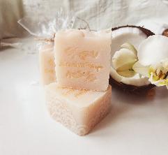 Кокос - Домашен Натурален Сапун