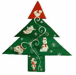 Коледна елха 3. Екологична и оригинална украса.