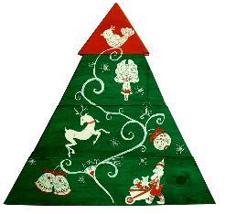 Коледна елха. Екологична и оригинална украса.