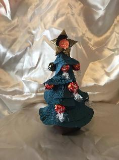 Коледна елха с бонбони