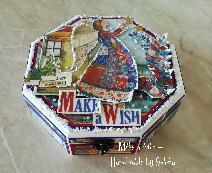 Коледна кутия за бижута