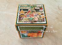 Коледна кутийка-картичка