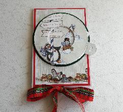 Коледна поп-ъп картичка