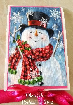 Коледна pop-up картичка