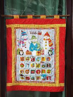 Коледни Адвент календари - текстилни