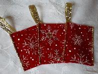 Коледни торбички с късмет пожелание