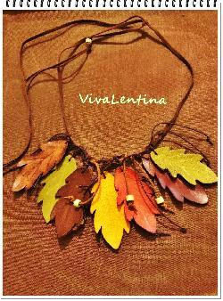 Колие есенни листа