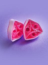 """Комплект бижута """"Розово триъгълниче"""""""