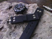 Кожена каишка за часовник , кожена верижка за часовник