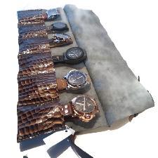 Кожено руло за часовници ,Travel watch roll,Schmuckrolle leder
