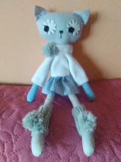 Кукла-котка