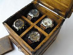 Кутия за часовници ръчна изработка - Продадена