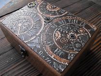 Кутия за часовници стиймпънк техника