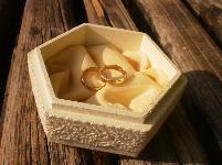 """Кутия за брачни халки """"Tenderness"""""""