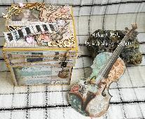 """Кутийка-картичка """"Музика"""""""