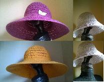 Летни плажни шапки с периферия. Летна шапка. Плажна шапка. Плетена