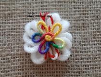Мартеници за закачане с цветни завъртулки
