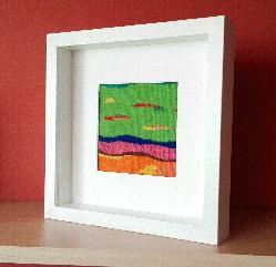 Мини абстракция 3 - ръчно изтъкана