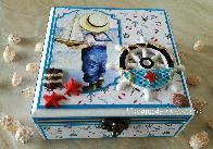 Морска кутия за бебешки съкровища