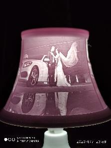 Нощна лампа с ваши снимки