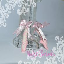 Обеци Нежност в розово