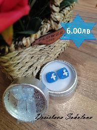 обеци от полимерна глина