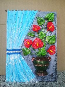 Пано със цвете
