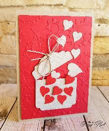 """Papi Art -картички """"Изубилие от сърца"""""""