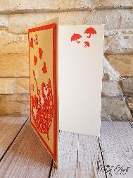 """Papi Art картичка """"Дъжд от любов"""""""
