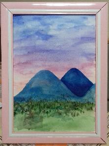 Планините в Гърция (Картина)