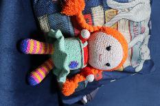 Плетена кукла Пипи
