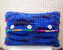 Плетена възглавничка