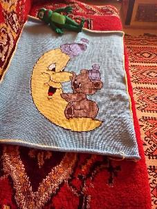 плетени бебешки и детски одеалца