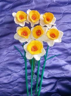Плетени цветя