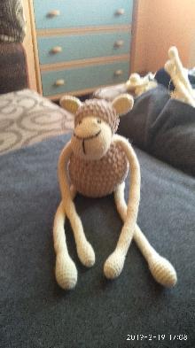 Плетени играчка овчица