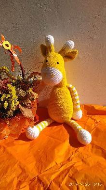 Плетени играчка Жираф