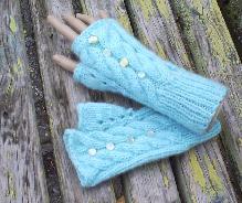 плетени ръкавици