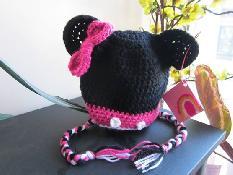 Плетени шапки - МИНИ МАУС