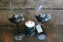 Подаръчен комплект с чаши за вино