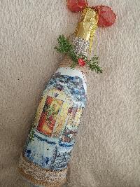 Коледен подарък- бутилка вино или шампанско