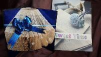 Подарък за кръщене сватба и рожден ден - арт книга