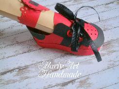 Покана бебешка обувка