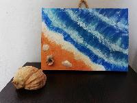 Портрет гвърху дъска - Море