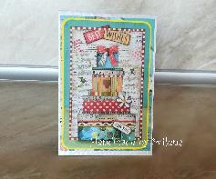 """Поздравителна pop-up картичка """"Честит рожден ден"""""""