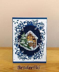 Ръчно бродирани картички