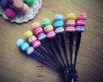 ръчно декорирани десертни прибори