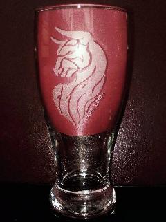 """Ръчно гравирани чаши за бира """"Зодиак"""""""