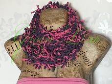 Ръчно изплетен шал